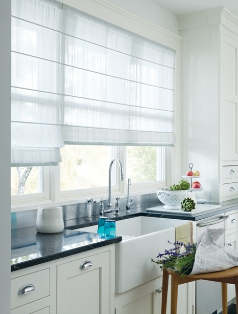 Window Blinds Shades And Shutters Residential 2009 Batten Front Kitchen
