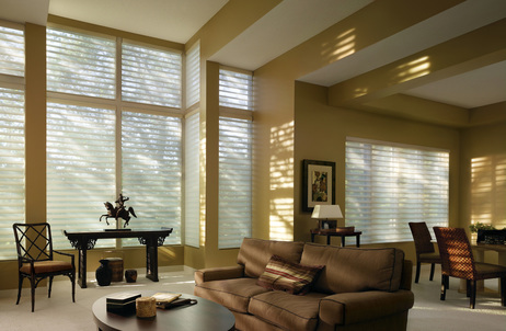 Window Blinds Shades And Shutters 2008 Quartette Living Room 1